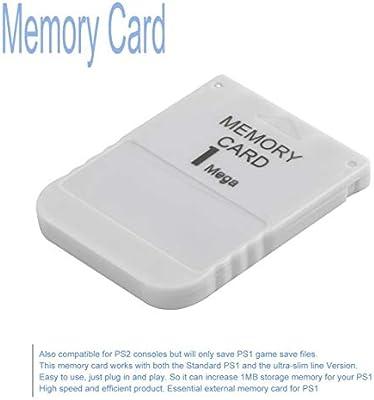 PS1 Tarjeta Memoria 1 Mega Tarjeta de Memoria para Playstation 1 ...