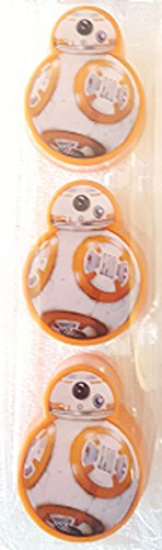 Star Wars BB-8 Figural Egg Containers Package of 3 Easter Party Treat Birthday -