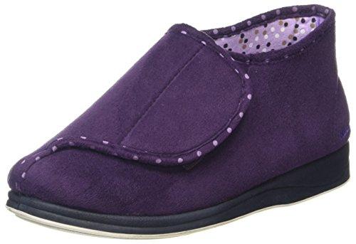 PADDERS Cherish Womens Full Slippers Lilac/Purple