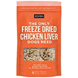 Natural Rapport Chicken Liver Dog Treats - The Only Freeze Dried Chicken Liver Dogs Need - Grain-Free Chicken Bites, Dog Treats for Small and Large Dogs (8 oz.) Larger Image