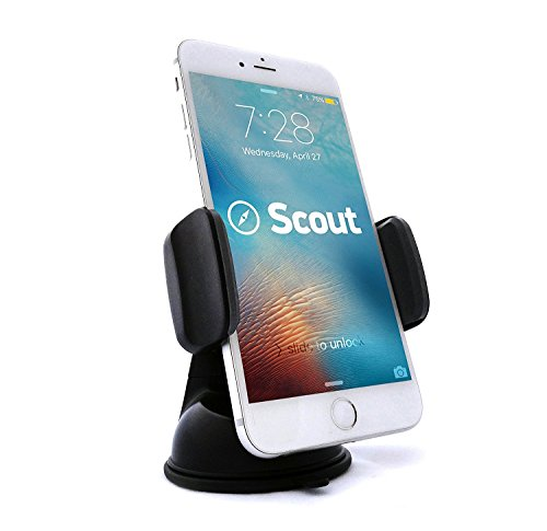SALE - Luxury Car Cell Phone Mount Holder For Dash, 360° Rotation Fits All Smartphones Including iPhone X, 8, 7 | 7/8 Plus, 6, 6S, 5, 5S | 6 Plus, 6S Plus | Galaxy S6, S7, S7 Edge, S8, Note 7