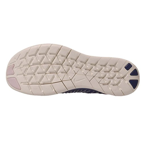 Nike Free Rn Flyknit Mtlc (gs) Viola