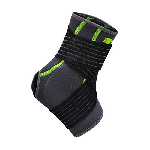 SENTEQ Ankle Brace Support Sleeve - Medical Grade & FDA Approved. Ankle Stabilization Sleeve with Strap and Heel Compression Wrap with Gel Padding Provides Support for Joints and Muscles. (SQ2 N003 S) by SENTEQ (Image #3)