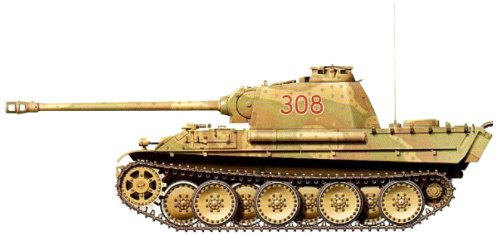Armourfast Panther Ausf G Tank (Set of 2) (1/72-Scale) for sale  Delivered anywhere in USA