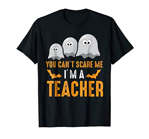 Scary Teacher Costumes Svg - Halloween costume - You Can't Scare