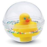 Fisher-Price 75676 Entchenball Badespielzeug gelb für Baby und Kleinkinder, ab 3 Monaten