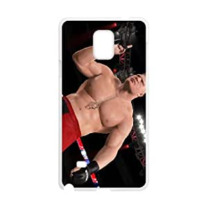 Samsung Galaxy Note 4 Cell Phone Case White WWE Personalized Phone Case Covers Clear CZOIEQWMXN6393