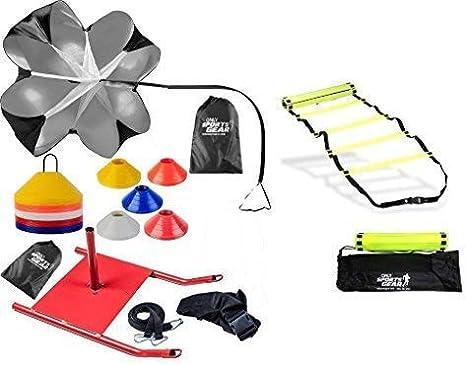 OSG trineo de velocidad de agilidad entrenamiento Crossfit Running Combo, escalera, tobogán y marcador C: Amazon.es: Deportes y aire libre