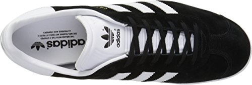 Adidas Gazelle Black White Mens Trainers CBlack-White-GoldMt