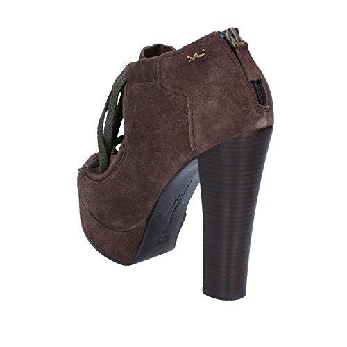 Maki Tokyo De Marrón Mujer Uehara Para Zapatos Ante Vestir wrrB8t5q