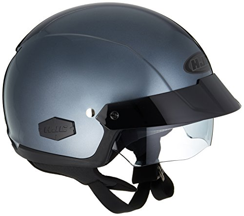 HJC IS-Cruiser Half-Shell Motorcycle Riding Helmet (Anthracite,