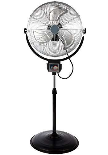 Oscillating Pedestal Industrial Fan Grade - Optimus F-4205 20
