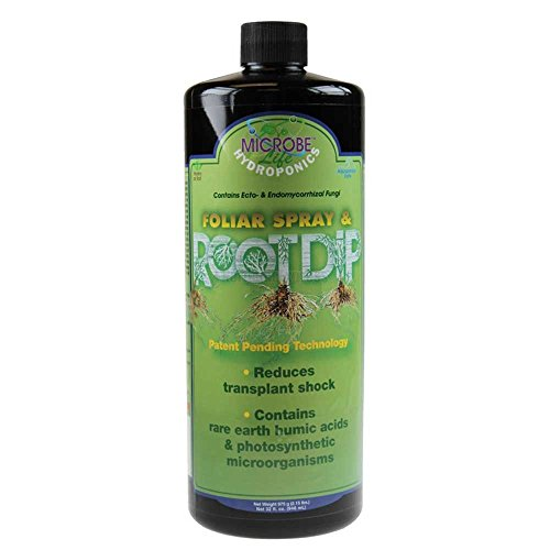 - Microbe Life Hydroponics PH21349 Foliar Spray & Root Dip Microbial Inoculant Fermented Microbial Product for Hydroponics Soil Conditioning and Aquaponics (32 Ounce)