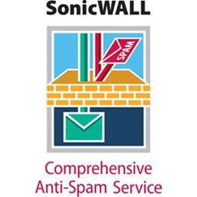 Dell SonicWALL 01-SSC-8993 Comprehensive Anti-Spam Service for TZ 210 Series 3-Year - Tz 210 Series