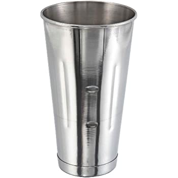 Winco Stainless Steel 30 Oz. Malt Cup