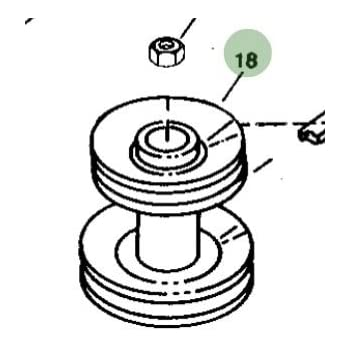 Amazon Com John Deere Original Equipment Pulley M163464 Garden