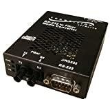 Transition Networks J/RS232-TF-01(SC)-NA Just Convert-IT Stand-Alone Media Converter - Short-haul modem - serial RS-232 - SC multi-mode / 9 pin D-Sub (DB-9) - up to 1.2 miles - 1300 nm