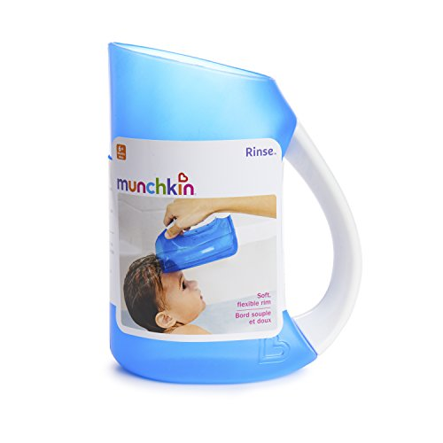 41mlLzcuzbL - Munchkin Rinse Shampoo Rinser, Blue, Pack Of 1