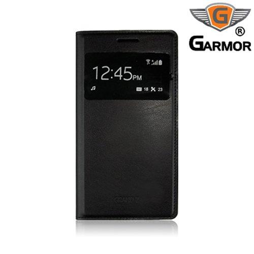 new style 39aa3 cdbe0 Garmor Samsung Galaxy Grand 2 G7106 Flip Cover with Sensor- Black ...