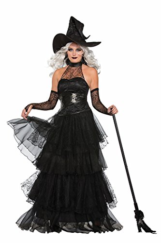 Gothic Costumes Adults Witch (Forum Women's Ember Witch Costume, Multi/Color,)
