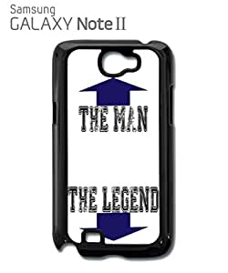 The Man The Legend Mobile Cell Phone Case Samsung Note 2 White