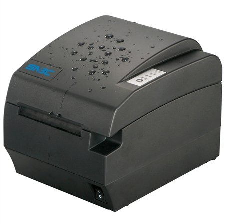 SNBC BTP-R580II SERIAL/USB POS Thermal Receipt Printer Black Front Exit Spill Proof Design 132075 by SNBC