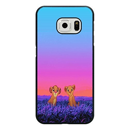Case Shell Cute Funny Disney Cartoon The Lion King Phone Case Cover for Samsung Galaxy S6 Edge Anime Popular
