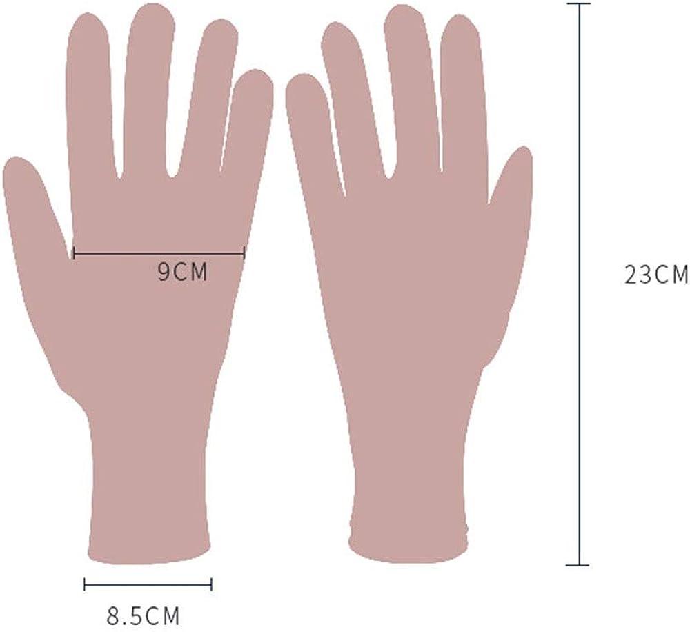 R2011 ROIY Frauen-Sonnenschutz-Handschuhe Baumwollgewebe Sommer Outdoor-Sonnenschutz Driving Elastic Anti-Rutsch-Screen-Handschuhe Damen Cotton Thin Section Anti-UV-EIS-Silk Handschuhe Au/ßenreit