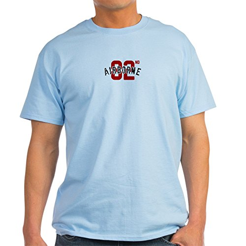 CafePress 82Nd Airborne Division T-Shirt 100% Cotton T-Shirt Light Blue