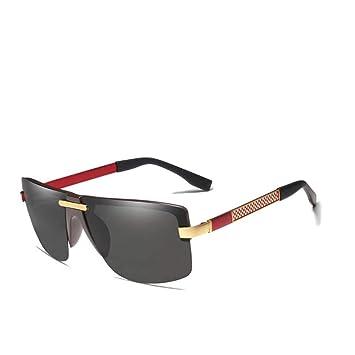 CCGKWW Gafas De Sol Polarizadas HD Hombres Sin Montura ...