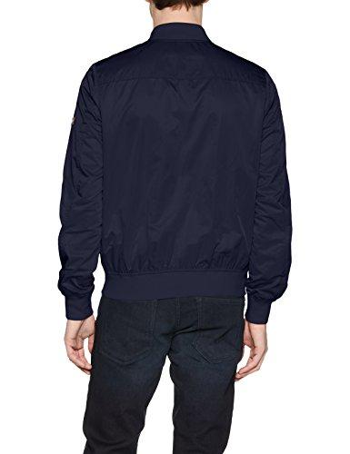 Essential Iris Straight Black para Chaqueta Azul 002 Hombre TJM Tommy Bomber Jeans SERR6