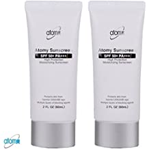 Atomy Sunscreen SPF 50 + Pa +++ Herb Skin Care Uv Sun Protection White 2 Pcs 1 Set