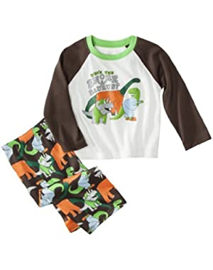 Just One You Made By Carter's Infant Boys Dinosaur 2pc Pajamas
