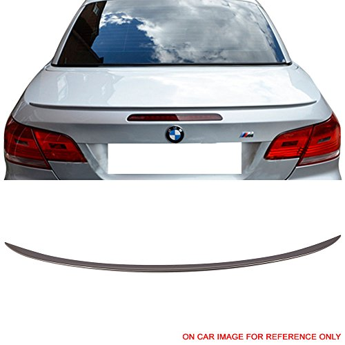 (Pre-painted Trunk Spoiler Fits 2007-2013 BMW 3-Series E93 | M3 Style #A53 Platinum Bronze Metallic ABS Rear Tail Lip Deck Boot Wing Other Color Available by IKON MOTORSPORTS | 2008 2009 2010 2011 2012 )