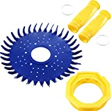 4 Pieces Pool Cleaner Replacements Including W70329Pool Cleaner Finned Seal W69698 Pool Cleaner Diaphragmand W70327 Foot Pad Compatible with Zodiac Baracuda G2, G3, G4 Replace W69721 W72855