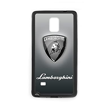 Samsung Galaxy Note 4 Phone Case Cover Lamborghini Cars Logo