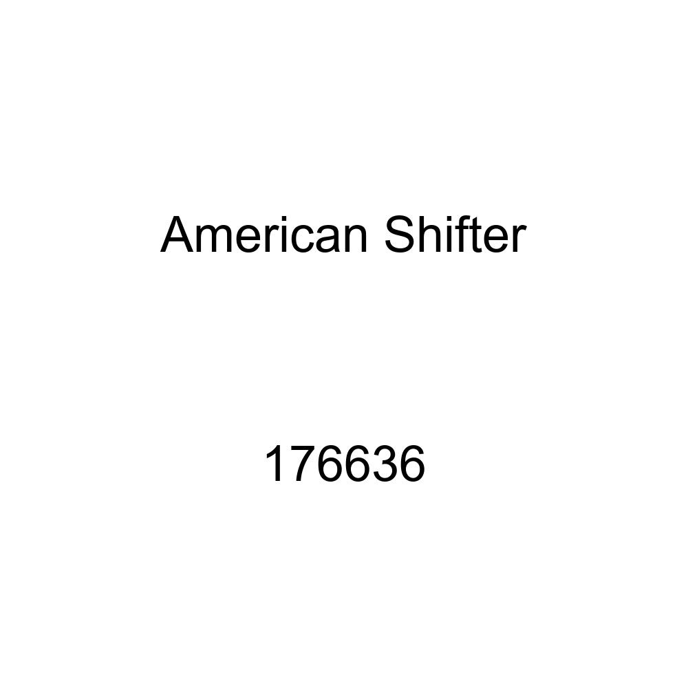 American Shifter 176636 Orange Retro Metal Flake Shift Knob with M16 x 1.5 Insert Green Circle Directional Arrow Up