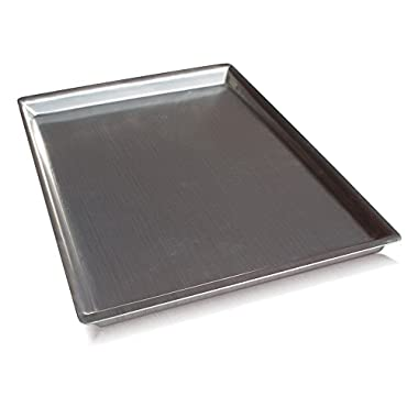 Island Ware Heavy Duty Half Sheet Pan – USA Made - Best 12, Not 13 Gauge Pans – Newly Designed to Bake Perfect Cookies, Cakes or Brownies - With This Bakeware You Are Set!