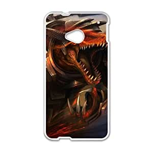 HTC One M7 White phone case Renekton league of legends AJK8721992