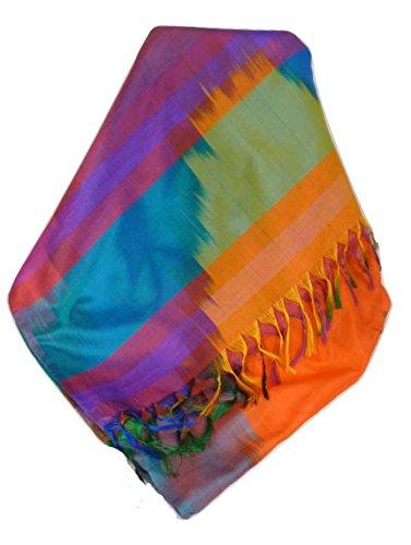 Varanasi Ekal 100% Foulard de Soie Jai 2 Gamme Heritage par Pashmina & Silk