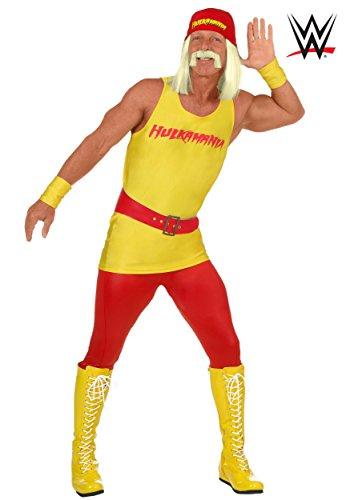 Hulk Hogan Costume Belt (Plus Size Hulk Hogan Costume 2X)