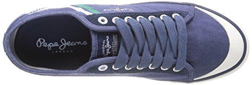 Pepe Blau Jeans Blu Print Uomo Sneaker Tenis 585marine basse AZrgA