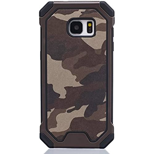 Galaxy S7 Case, Haoshi 3 in 1 Camouflage Case [PC + Silicone] Back Cover Case Shockproof [Drop resistence] [PC Bumper] Protective Case for Samsung Galaxy S7 Sales