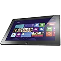 Lenovo IdeaTab Lynx K3011 64 GB Net-tablet PC - 11.6 - In-plane Switching (IPS) Technology, VibrantView - Intel Atom Z2760 1.80 GHz - Black, Purple Gray - 2 GB RAM - (Certified Refurbished)