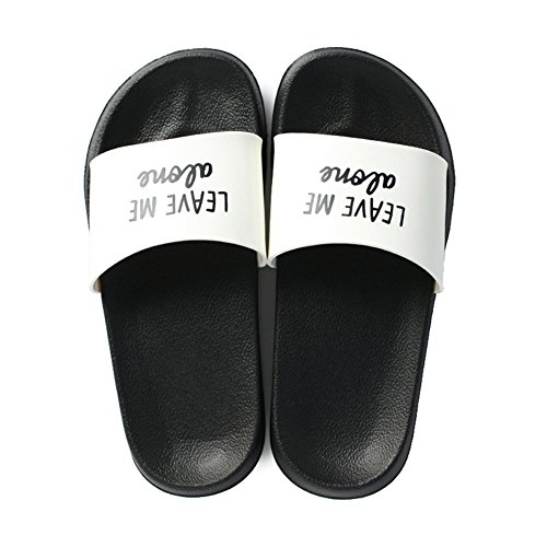 Anti Bottom for Slip TELLW Home Slippers White Male Indoor Female Summer Slippers Thick Bathroom Cool Eqa8qwzP