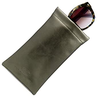 Soft Sunglasses case & Eyeglass Pouch, Squeeze Top XL