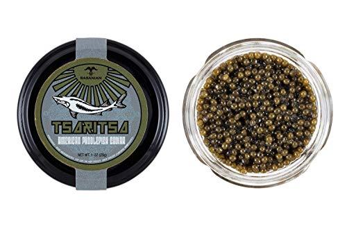 GUARANTEED OVERNIGHT! Premium American Wild Spoonbill Paddlefish Caviar by Tsaritsa (4 oz)