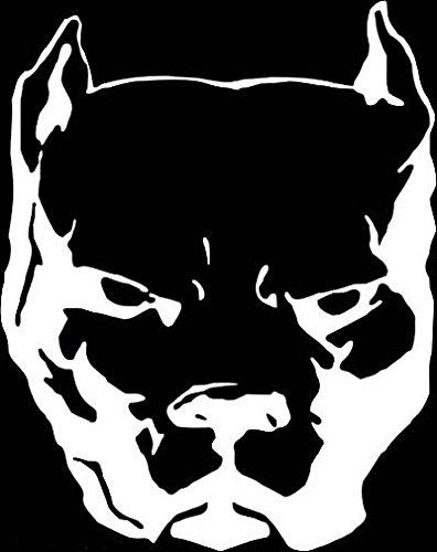 pitbull window decal - 8