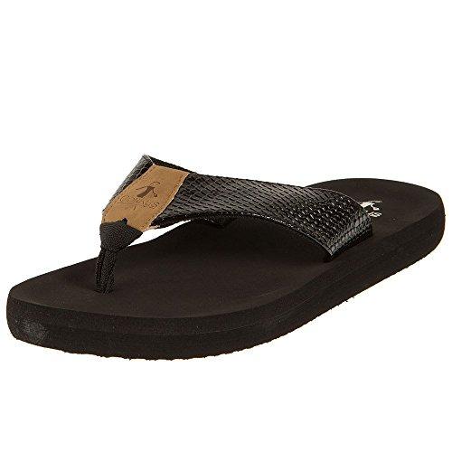 Corkys Footwear Womens Ladies Flip Flops 9 Medium Black