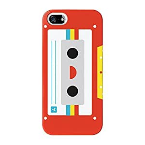 Kawaii Cassette Red Full Wrap High Quality 3D Printed Case for iPhone 5 / 5s by Tom Pearson + FREE Crystal Clear Screen Protector